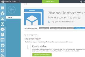 Mobile Service Setup