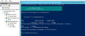 Script IIS Virtual Directory