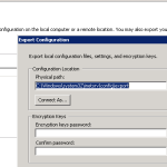 Troubleshooting IIS Shared Configuration
