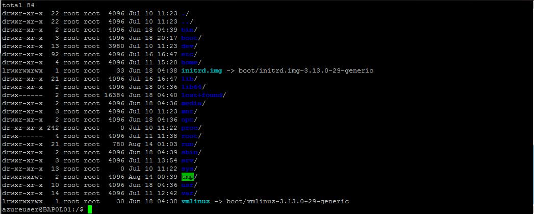 Ubuntu in Azure